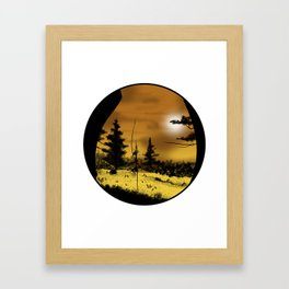 Imagine a forest of butts..... Framed Art Print