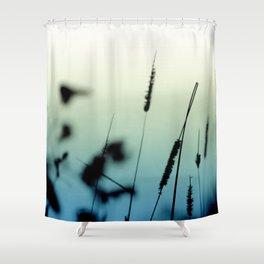 Dawn Grass Shower Curtain