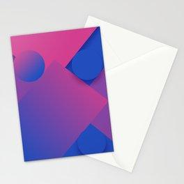 Gradient Graphic Pattren Stationery Cards