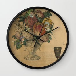 Beautiful Delusion Wall Clock