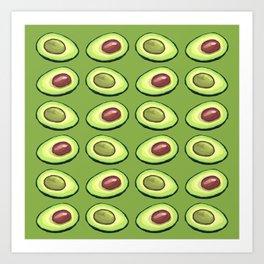 Avocado Healthy New You 2019 Art Print