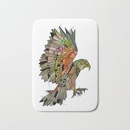 Kea New Zealand Bird Bath Mat