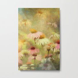 Thoughts Of Flowers Metal Print