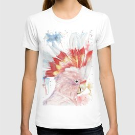 "Watercolor Painting of Picture ""Inca Cockatoo"" T-shirt"