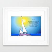 destiny Framed Art Prints featuring Destiny by Artisimo