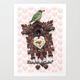 Absolutely Cuckoo by Lee Moyer Art Print