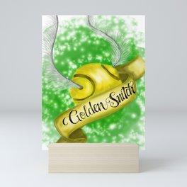 Golden Snitch Mini Art Print