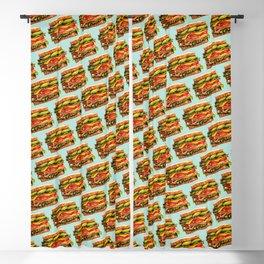 Sandwich Pattern - Turkey Blackout Curtain