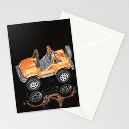 """""""Reflections"""" - Toy Car 2 Stationery Cards"""