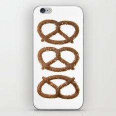 pretzel pattern iPhone & iPod Skin