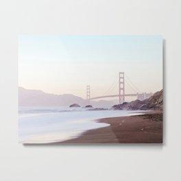 Golden Gate Bridge, San Francisco Photography Metal Print