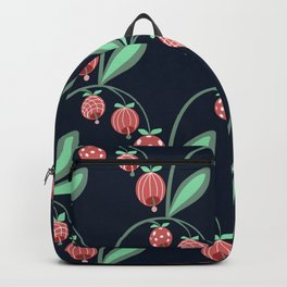Daily pattern: Retro Flower No.12 Backpack