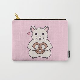 I love you more than this hamster loves pretzels Carry-All Pouch
