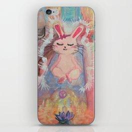 Namaste Bunny iPhone Skin