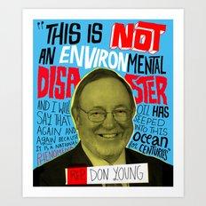 Don Young Art Print