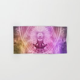 Spiritual Yoga Meditation Zen Colorful Hand & Bath Towel