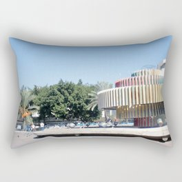 Tel Aviv photo - Dizengoff Square Rectangular Pillow