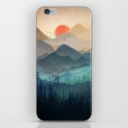 Wilderness Becomes Alive at Night iPhone Skin