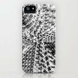 Griswold Christmas Tree - Black And White iPhone Case