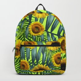 Sunflower Party #3 Backpack