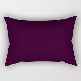 Eggplant Purple Color Scheme Home Decor Rectangular Pillow