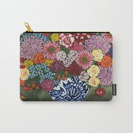 Amsterdam Flowers Carry-All Pouch