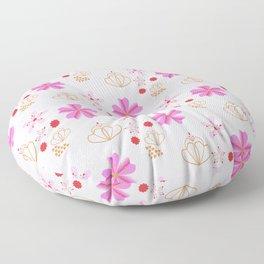 Spring Flowers Cherry Blossom Pink Blush Floor Pillow