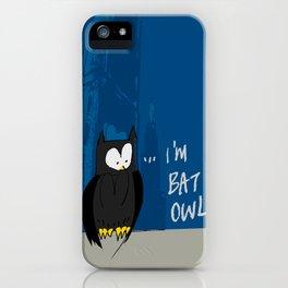 Bat Owl ... iPhone Case