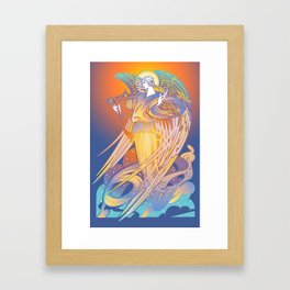 Ethereal Angel Framed Art Print