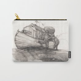 Hanging in a Houseboat Carry-All Pouch