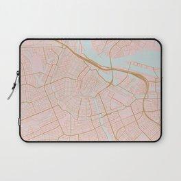 Amsterdam map Laptop Sleeve