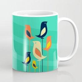 Mid Century Birds Coffee Mug
