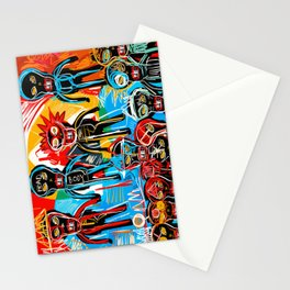 One in crowd Stationery Cards