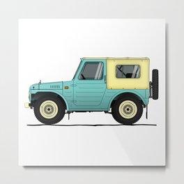 Suzuki Lj80 Metal Print