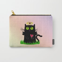 angel cat and ladybug Carry-All Pouch