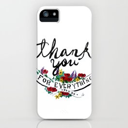Merci iPhone Case