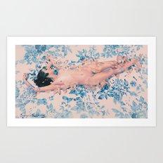 Rose Quartz And Serenity Art Print