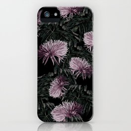 Night Floral iPhone Case