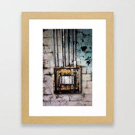 Electrical Framed Art Print