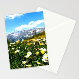 Summer in the Alps Stationery Cards