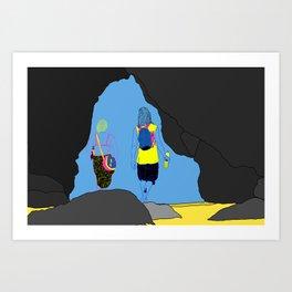 Amor Arrastrado Art Print