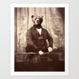 Portrait of Oswald Doyle Art Print