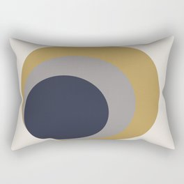 Nested Circles Rectangular Pillow