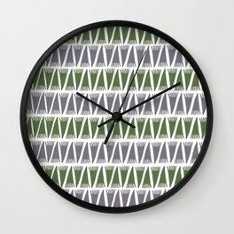Tee Pee Kale Wall Clock