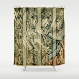Hippogriffs Shower Curtain