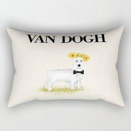 Van Dogh Rectangular Pillow