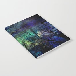 misitc night in the forest Notebook