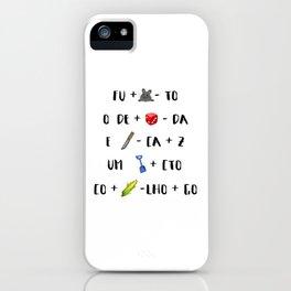 > fura o dedo iPhone Case