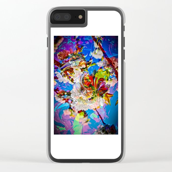 Abstract Perfection 14  Spring Clear iPhone Case