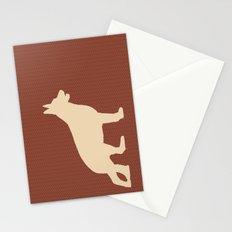 German shepherd art Stationery Cards
